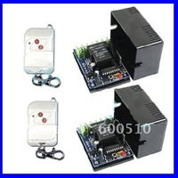 10A 2 CH 315/433MHz DC12V Wireless Remote Control Switch, Radio Controller,Transmitter & Receiver - 3 Control Modes
