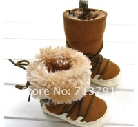 1pair winter warm Thick kids shoes, Baby snow boots baby girls and boys cotton shoes ,children fashion boots