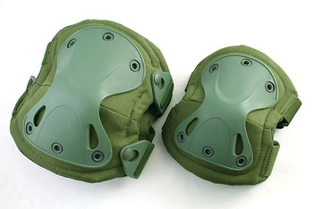 SWAT X-Cap Paintball Knee&Elbow Pads OD Green 5052 free ship