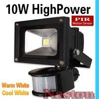 10W LED PIR Passive Infrared Motion Sensor flood Light or human sensor light for indoor Security