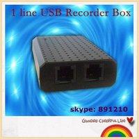 1 line voice recorder box