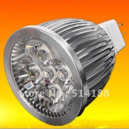Free shipping 10x Dimmable High Quality 10W MR16 GU10 LED Light Spotlight Downlight(China (Mainland))