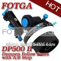 Fotga DP500 II dampen follow focus A/B hard stop for DSLR Canon 5D II III 7D Nikon D90 d7000 d5100 15mm rod high quality!