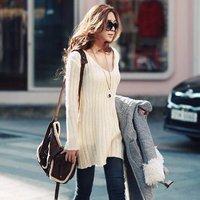 Женский свитер E81139