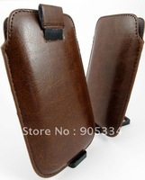 Free shipping,50pcs/lot,Leather Bag Back Cover Case For iphone5 5G,New leather case for new iphone5  New!