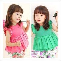 Платье для девочек Children's clothing kids clothes Pastoral print dress girl's dress girl's clothing #M12384