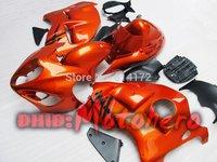 Orange for Suzuki Hayabusa Fairing Kit GSXR 1300 1996-2007 GSX R1300 96 97 98 99 2000 01 02 03  04 05 06 07