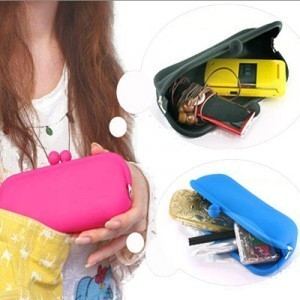 Golbal free shipping: 2012 spring silica gel purse cosmetic bag pouch mobile phone bag silica gel bags clutch