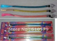 Wholesale -freight free Flash braid Flash hair LED bar party supplies Product Name: light braids 30pcs