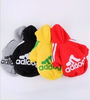 ree shipping+12pcs/lot+Foreign Trade Quality Lovely 2012 Newest Warm Dog Clothes/Sweaters