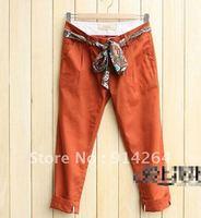 [F-073] 2012 women's fashion summer new arrival women's chiffon one-piece pants