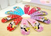 The children card issuers headdress Mickey Mouse BB folder blending cartoon clip free shpping