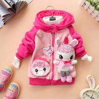 Wholesale 3pcs/lot children's clothing /baby clothes/ girls clothes/girls winter coat/children winter jacket