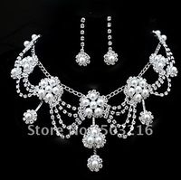 Free Shipping Bride Accessories Wedding Jewelry Set