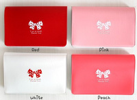 free shipping wholesale 10pcs/lot E9264 queer bow card holder