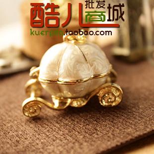 free shipping wholesale 10pcs/lot E4348 queer accessories fashion vintage magic pumpkin car necklace female