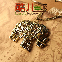 free shipping wholesale 10pcs/lot E4209 fashion accessories vintage cutout carved necklace female