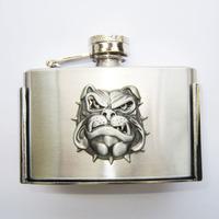 Denim buckle hip flask series 3  belt buckle flask