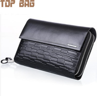 Дорожная сумка fashion men's 100% leather handbag leather wallet