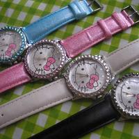 Hello kitty watches kitty watch girls fashion diamond HELLO KITTY watch