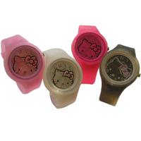 Hot-selling hello kitty watch girls girl silica gel fashion watch HELLO KITTY watch