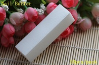 High-Quality White Nail Buffer Block File 4 Way Shine, 4pcs/lot + Free Shipping