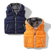 2012 autumn and winter children's clothing child vest male child cotton vest child baby casual vest