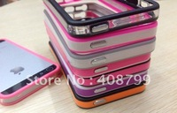 Wholesale Newest Bumper Case For Iphone 5 5G,bumper case for iphone5 With Retail Packing,Free Shipping