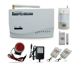 Free Shipping GSM Wireless Home Security Alarm System + Auto Dialing(China (Mainland))