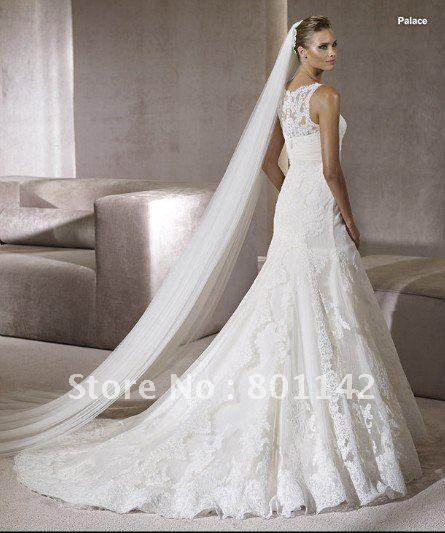 Wedding Dresses With Long Veils