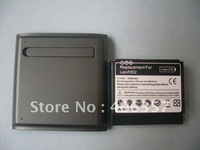 2600Mah extended battery for HTC HD2 + Battery Cover Free Shipping 100pcs/lot