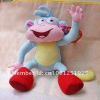 "Free Shipping 5/Lot Dora the Explorer BOOTS The Monkey Plush Dolls Toy 10"" Retail"