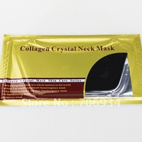 16pcs/lot Collagen Bionic Crystal Neck Mask 3colors Circle-shaped Powder Whitening Moisturizing