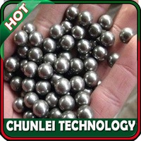 "Free shipping ! New 200pcs/lot ! 5/16"" (8mm) Chrome Slingshot Steel Balls"