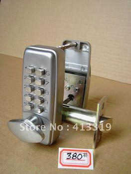 Digital Password Code Pushbutton deadbolt Door Lock Mechanical Keyless Entry