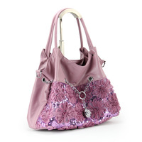 Free shipping-Lace flower vintage casual shoulder bag  women's  bag women's handbag