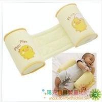 Baby bedding shaping pillow flat toe cap pillow baby anti-roll pillow 100% cotton crib bedding