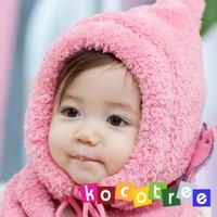 Kocotree 2012 winter tiger hat scarf set thermal baby hat scarf 010051