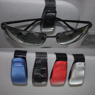 Car accessories black transparent clip clip car glasses clip eyeglasses frame