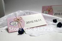 Free customized printing,  wedding invitation card,13001, Wedding favors, free shipping