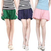 Chiffon shorts female culottes loose shorts sports female trousers plus size casual pants skirt