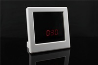 Free shipping Mirror clock dvr /clock camera/mirror video/mirror clock video camera