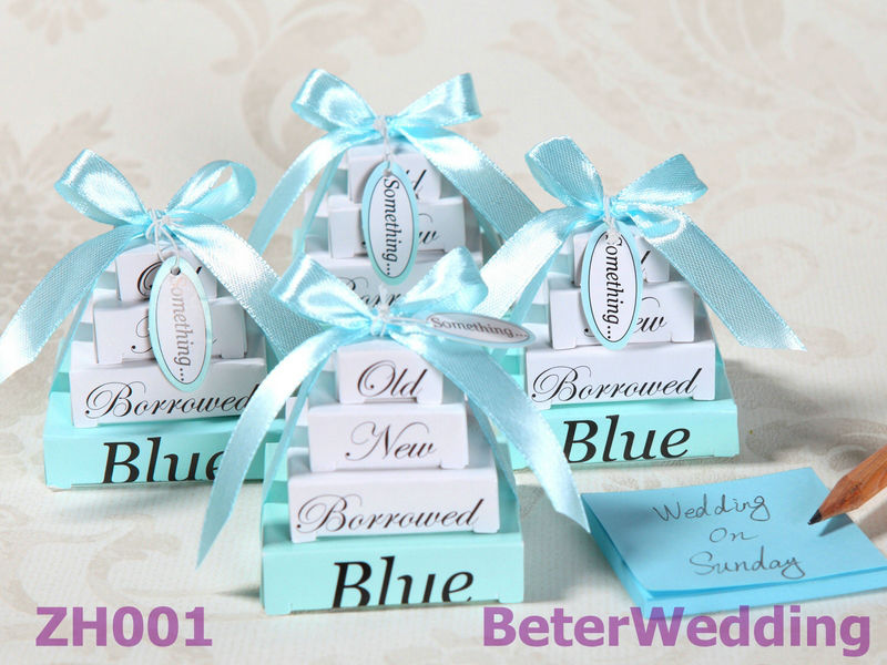 Wholesale Baby shower ZH001 Blue Memo used as birthday gifts and wedding favors, wedding decoration(China (Mainland))