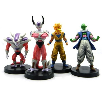 Wholesale, Christmas gift Dragonball Z-Goku figure toys, 1lot 5set black color 14cm freezer figure DL005