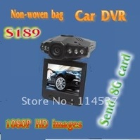 Infrared night vision driving recorder car black box car dvr hd cycle 8g card