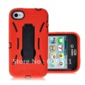 Free Shipping New Durable Robot kick out stand Case For 4G 4S