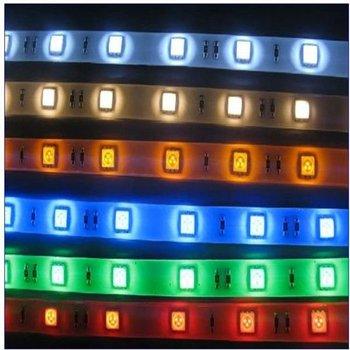 20M/Lot High Bright 3528 RGB LED Strip Light 60Leds/M Waterproof 300 Leds Flexible Lights + 24 Key IR Remote Controller
