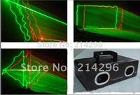 2014 Sale Top Fashion Dmx Stage Light Dj Dmx Dmx Controller Factory Outlet 250mw Red & Green Double Eyes Disco Laser Light