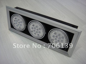 36x1W 36W Led ceiling down light lamp projeck light 2pcs/alot