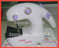 hand or battery 2 in 1 Cute Mini desk top Mini crafts Sewing Machine Sartorius (white) FREE SHIPPING